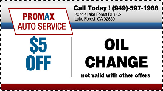 Oil change Lake Forest